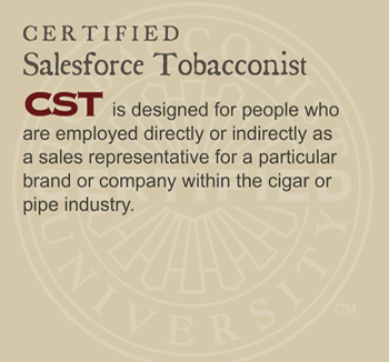 GET CERTIFIED: Certified Salesforce Tobacconist (CST)