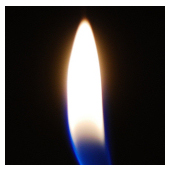 Butane Lighter: Traditional Flame